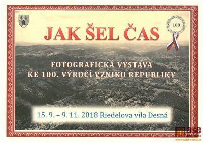 Jak šel čas: fotovýstava ke 100. výročí vzniku republiky v Desné
