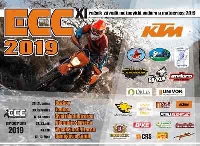 Seriál KTM ECC 2019 zahájí prvním závodem v Bozkově