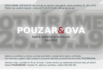 V Jablonci otevřou novou galerii Pouzar&ová