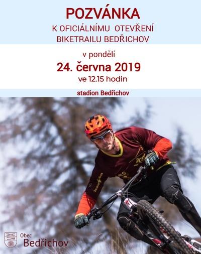 Biketrial otevřou v Bedřichově 24. června