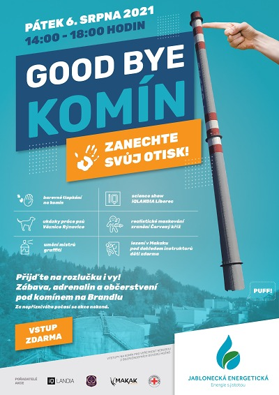 Rozloučit s nejvyšším komínem v kraji se můžete osobně 6. srpna