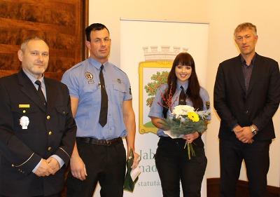 Primátor Jablonce ocenil strážníky za záchranu života