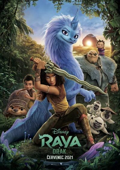 Animovaný hit Raya a drak uvidíte v letních kinech