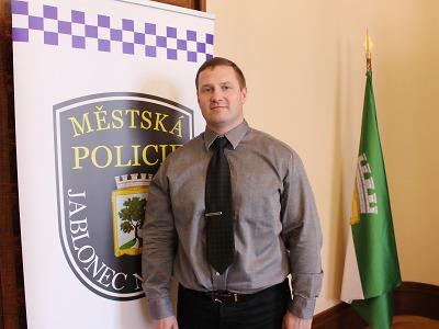 Nový ředitel jablonecké městské policie se ujímá funkce
