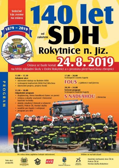 Sbor dobrovolných hasičů Rokytnice nad Jizerou slaví 140 let