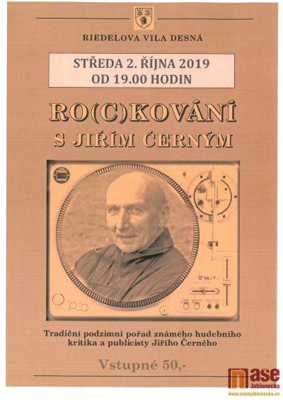 Ro(c)kování s Jiřím Černým se koná v Desné
