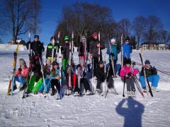 Školní lyžování školáků ze Smržovky