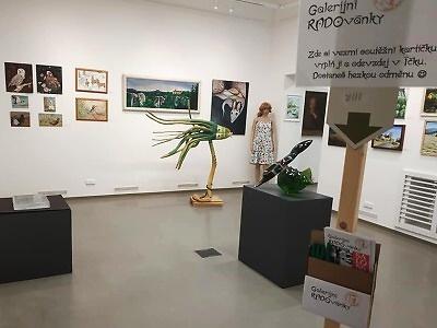 V Městské galerii Vlastimila Rady zahájili výstavu Salon 6