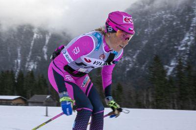 Kateřina Smutná na La Diagonele vybojovala 3. místo i s pádem