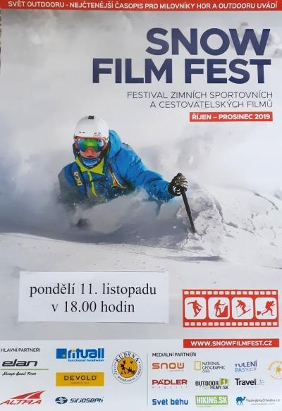 Zažijte dobrodružství Snow Film Fest na plátně tanvaldského kina