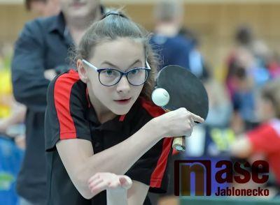 V jablonecké sportovní hale se o víkendu hrál stolní tenis