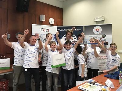 Krajská odborná soutěž pro žáky T-PROFI se konala v Jablonci