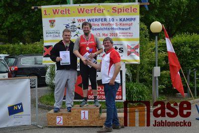 Mistrovství světa v LSW se účastnili i dva atleti z Jablonce