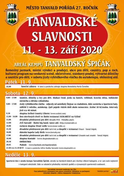 Město Tanvald pořádá již 27. Tanvaldské slavnosti