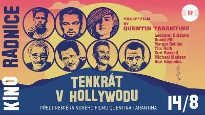 Tarantinův film Tenkrát v Hollywoodu uvedou v Jablonci už 14. srpna