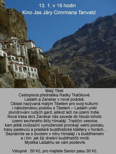Cestovatelka Radka Tkáčiková bude v Tanvaldě vyprávět o Malém Tibetu