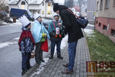 Tanvaldští koledníci získali přes 60 tisíc korun na dobrou věc