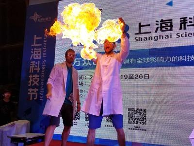 Tým liberecké iQlandie popularizoval vědu na festivalu v Číně