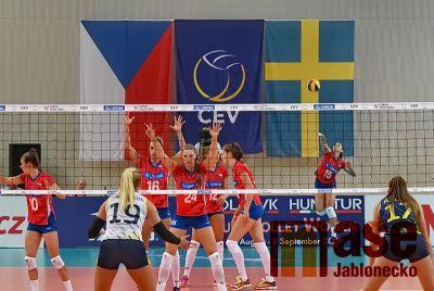 Vstup do kvalifikace se českým volejbalistkám nepovedl