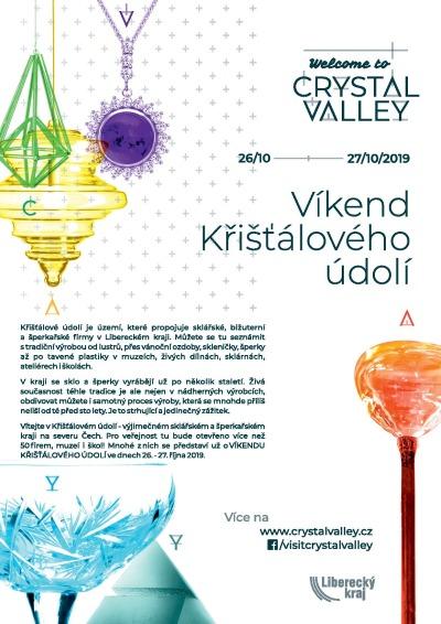 Víkend Křišťálového údolí ukáže skláře a šperkaře i v Jizerských horách