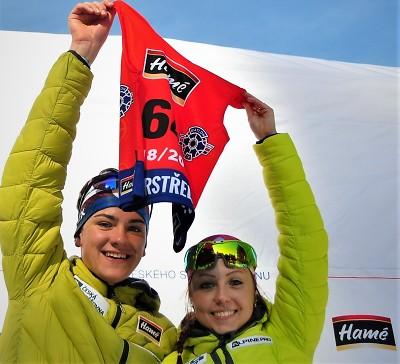 Vítězi 5. ročníku soutěže Biatlonový superstřelec Voborníková a Mánek
