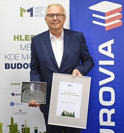 Ve finále ankety Město pro byznys je Jablonec čtvrtý, zvítězil Brandýs