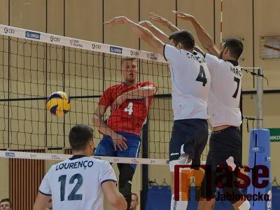 Čeští volejbalisté zvítězili i v druhém přátelském utkání s Portugalskem