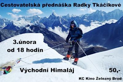 Cestovatelka Radka Tkáčiková vás vezme do Východního Himaláje