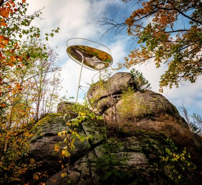Vyhlídka Špička nadchne milovníky přírody i architektury