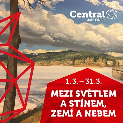 V jabloneckém Centralu najdete v březnu obrazy Lukáše Černého