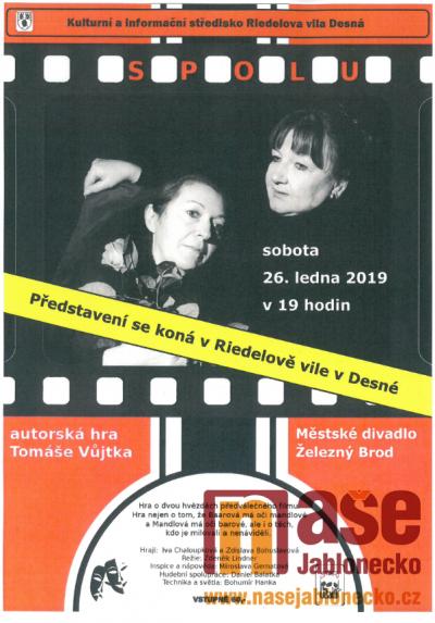 Pozvánka na divadlo do Desné