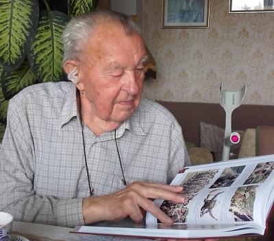 Čestný občan Jablonce Zdeněk Neruda oslavil 98 let