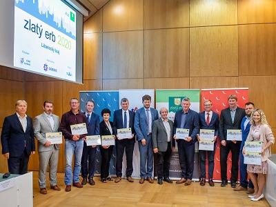 Liberecký kraj vyhlašuje soutěž Zlatý erb o nejlepší webové stránky