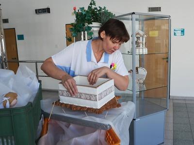 Perníčky Zuzany Königové můžete obdivovat v jablonecké nemocnici