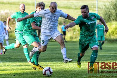 Obrazem: V Držkově se hrálo derby jako řemen!