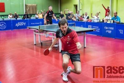 Obrazem: V Liberci se opět hrál špičkový stolní tenis