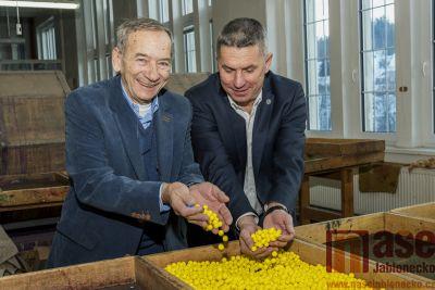 Obrazem: Návštěva předsedy Senátu v Albrechticích
