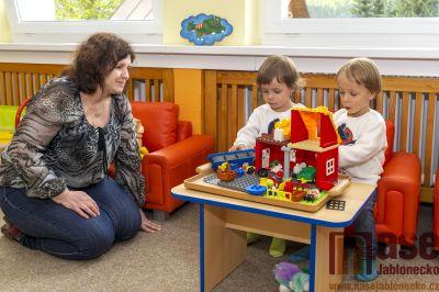 Obrazem: Zápis do mateřské školy v Tanvaldě