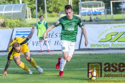 Fotbalisté Velkých Hamrů získali krajský pohár