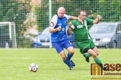 Obrazem: Přípravné utkání FK Smržovka - FK Tatran Jablonné