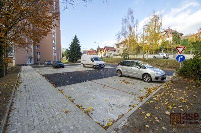 V Tanvaldě vybudovali nové parkoviště