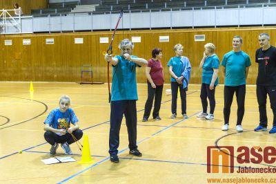 Obrazem: Vánoční sportovní hry seniorů v Tanvaldě