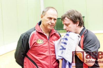Liberec hostil žijící legendy stolního tenisu