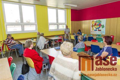 Obrazem: V Tanvaldě občané besedovali s vedením města