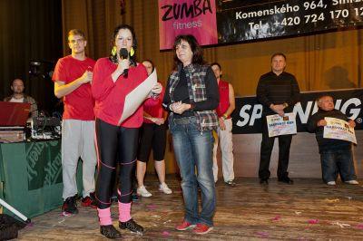 Poděkování sponzorům Charitativního Zumba maratonu 2013