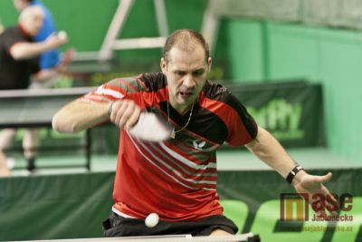 Jablonecký stolní tenista Šilhán druhý v prvním turnaji Bižu-MoC cupu