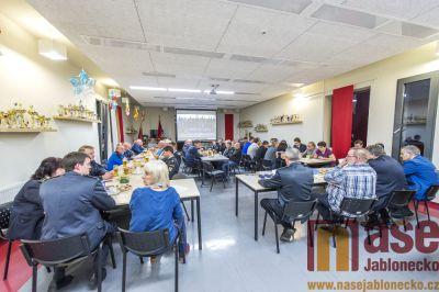 Obrazem: Výroční členská schůze šumburských hasičů