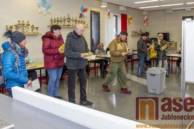 Obrazem: Druhé kolo prezidentských voleb v Tanvaldě