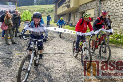 Obrazem: Slavnostní otevření Bikeparku na Tanvaldském Špičáku