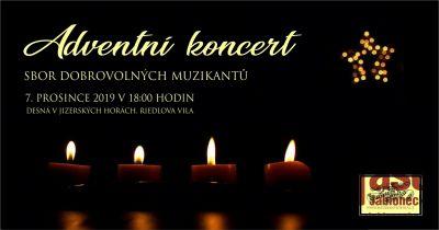 Adventní koncert Sboru dobrovolných muzikantů připravují v Desné